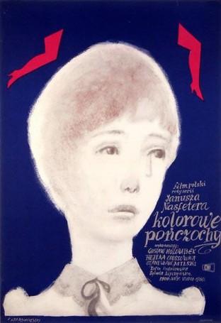 Kolorowe pończochy, 1960 r.