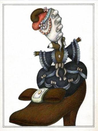'Bajki', I. Krasicki -illustration, 1983
