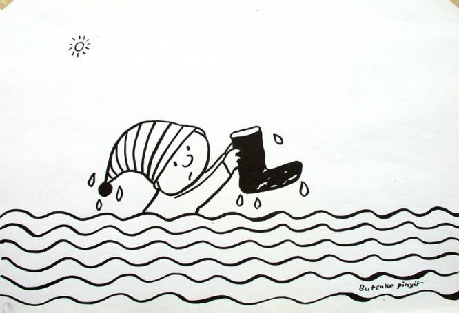 Gapiszon, ilustracja książkowa