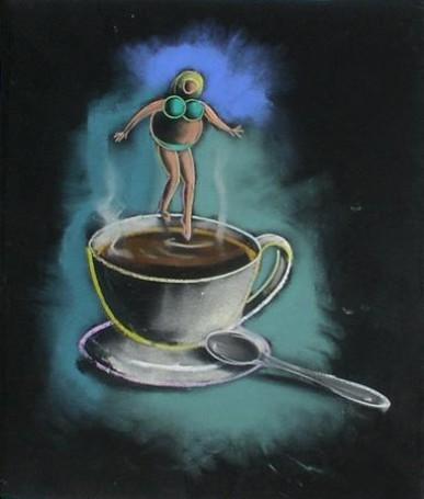 Za dużo kawy