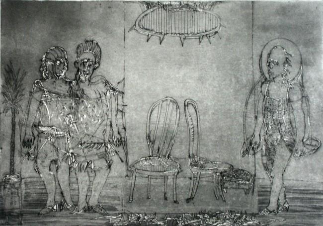 Dwa krzesła, 1988 r.