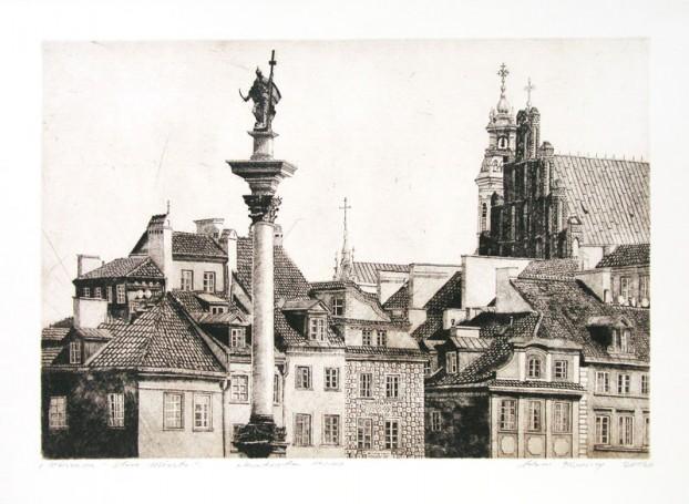 Warszawa -Stare Miasto, 2012 r.