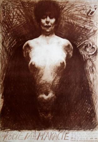 Kobieta wplakacie, 1980 r.