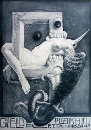 Giełda plakatu PTTK Warszawa, 1982 r.
