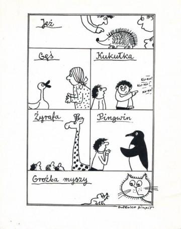 Untiled, illustration from Płomyczek No. 11 p.22