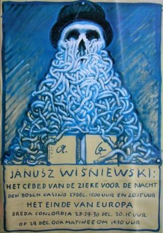 Het gebed van de zieke voor de nacht, Janusz Wiśniewski, 1989 r.
