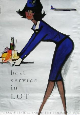 Meilleur service dans LOT, 1966