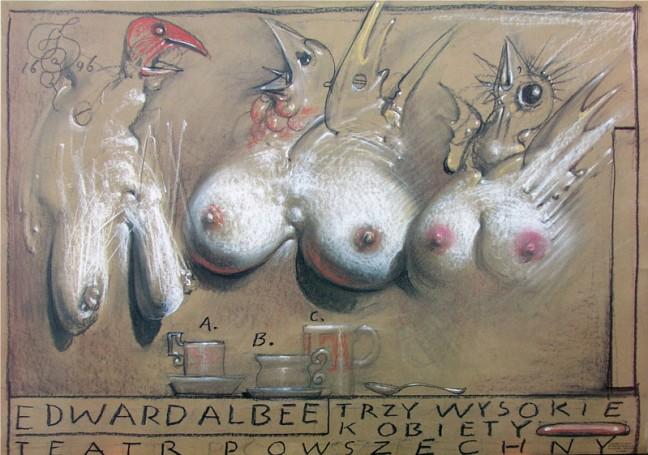 Trzy wysokie kobiety, 1996 r.