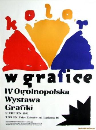 Kolor wgrafice, 1991 r.