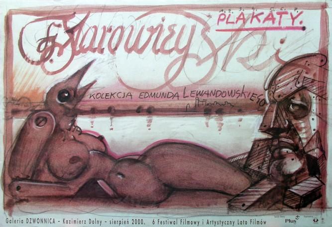 Starowieyski Plakaty Galeria Dzwonnica Kazimierz Dolny, 2000 r.