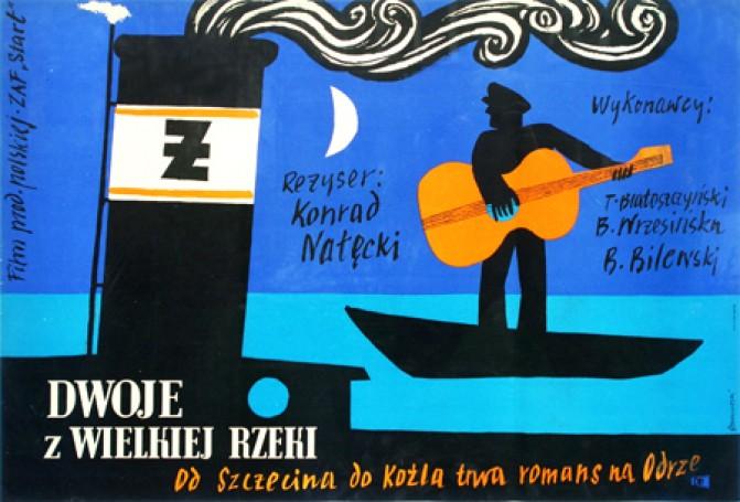 Dwoje zWielkiej Rzeki, reż. Konrad Nalecki, 1958 r.