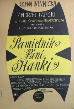 Pamiętnik Pani Hanki, Reżyseria, Stanislaw Lenartowicz, 1963 r.