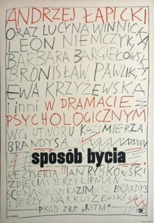 Sposób bycia, reż. J. Rybkowski, 1965 r.