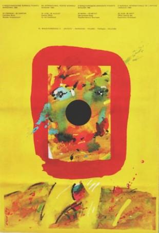 8 Międzynarodowe Biennale Plakatu Warszawa 1980