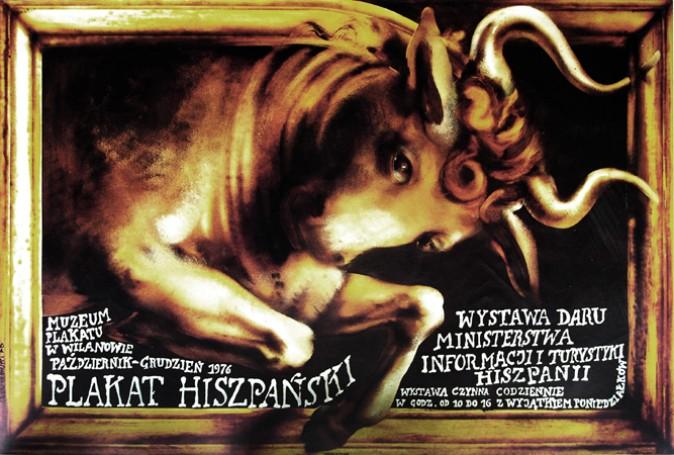 Plakat Hiszpański, 1976 r.