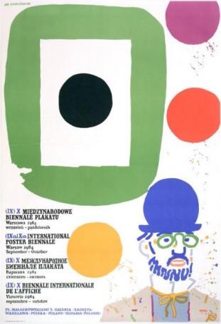(IX) X Międzynarodowe Biennale Plakatu, 1984 r.