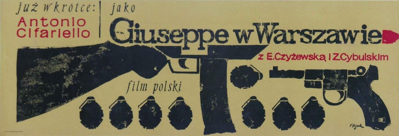 Giuseppe wWarszawie, 1964 r.