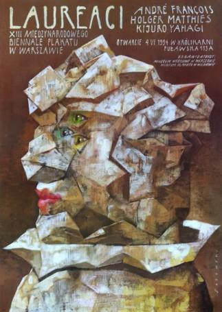 Award winners of XIII International Posters Biennal in Warsaw, 1994