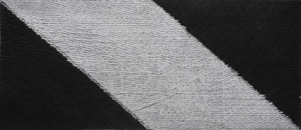 Bez tytułu, zcyklu abstrakcyjnych kompozycji opartych na rytmie- dynamice istatyce, 2008 r.