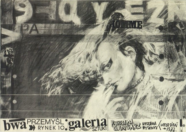 Exhibition BWA in Przemysl, 1982