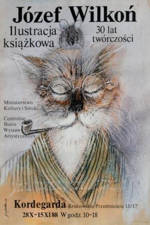 Józef Wilkoń, ilustracja książkowa. 30 lat twórczości