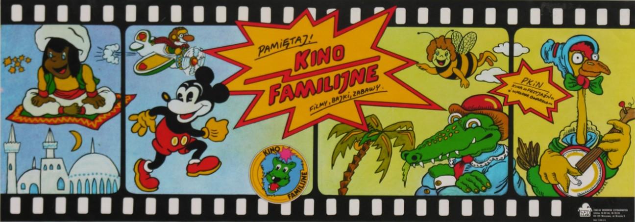 Kino Familijne. Filmy, bajki, zabawy, 1987 r.