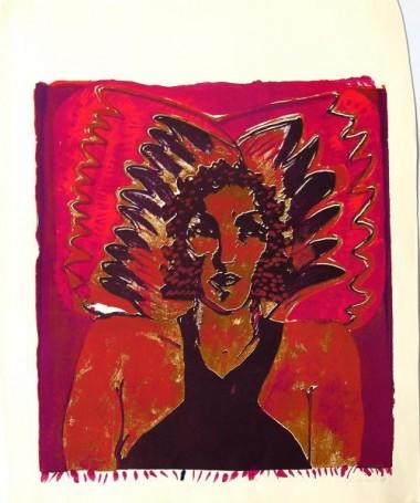 Grafika kolorowa, 1979 r.