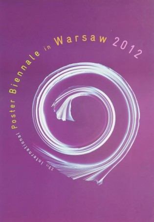 23th International Poster Biennale in Warsaw 2012, wystawowy, biennale plakatu
