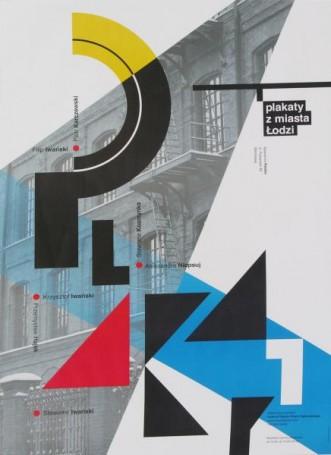 Plakaty zmiasta Łodzi, wystawowy