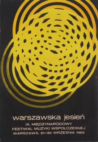 9 Międzynarodowy Festiwal Muzyki Współczesnej warszawska Jesień, festiwalowy, 1965