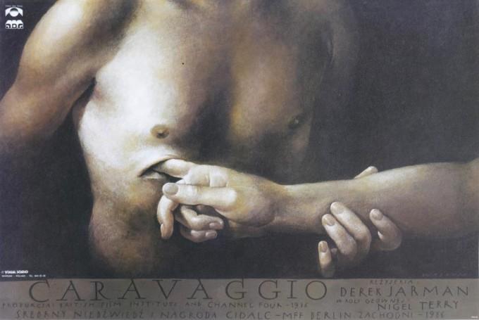 Caravaggio, filmowy, angielski
