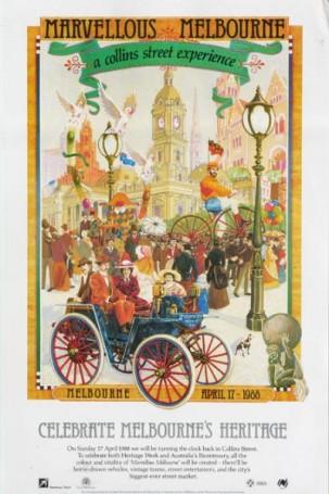 Celebrate Melbourne's Heritage, 1988