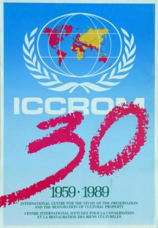 ICCROM 1959-89, 1989 r.