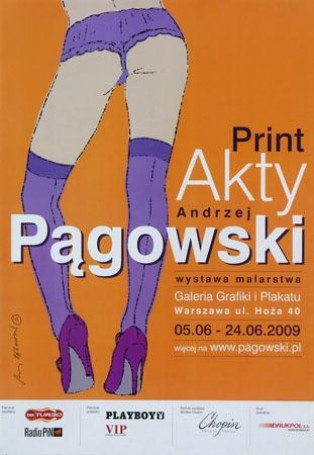 Print akty Galeria Grafiki iPlakatu, wystawowy, 2009