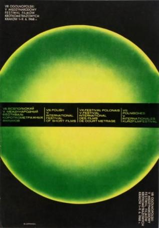 VIII Ogólnopolski V Międzynarodowy Festiwal Filmów Krótkometrażowych Kraków 68, wersja zielona