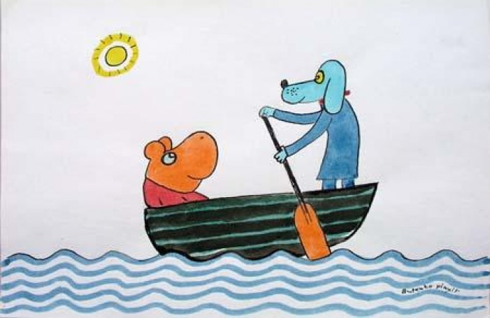 Gucio iCezar, ilustracja książkowa