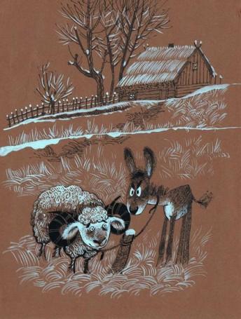 Bez tytułu (Baran iosioł), ilustracja (205)