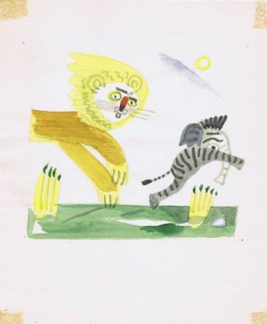 Untitled, illustration to the magazine: