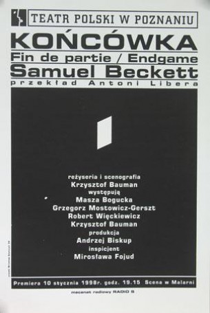 Endgame, 1998, Samuel Becket