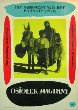 Magdana's donkey, 1957
