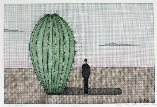 W cieniu kaktusa