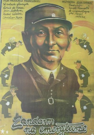 Żandarm na emeryturze, 1979 r.