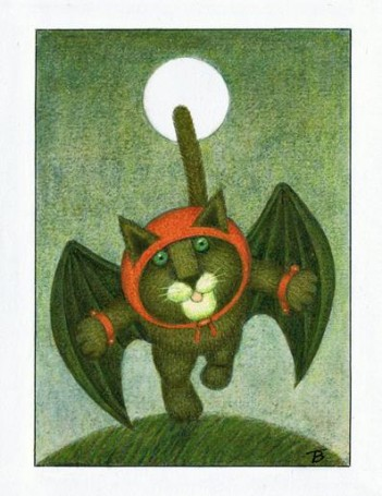 'Na wyspie Umpli-Tumpli', Miroslaw Stecewicz -book illustration