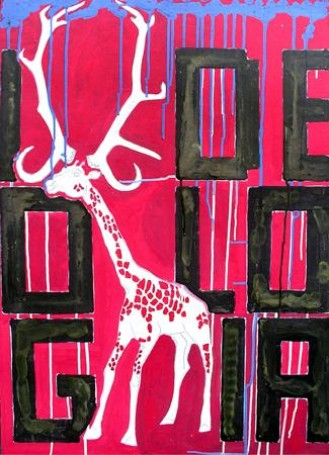 Cudowna zamiana martwej żyrafy -Idei wIdeologię, 2008