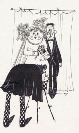 Bez tytułu, (fotografia ślubna), ilustracja