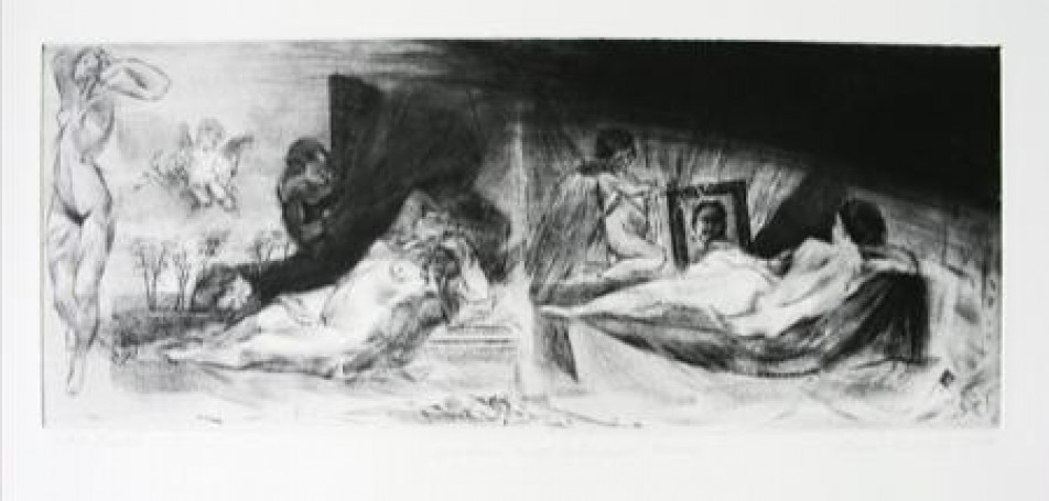 Giordano' and Velazquez's Venuses, 2009 r.
