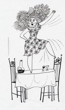 Potrzeba zwracania uwagi, illustration