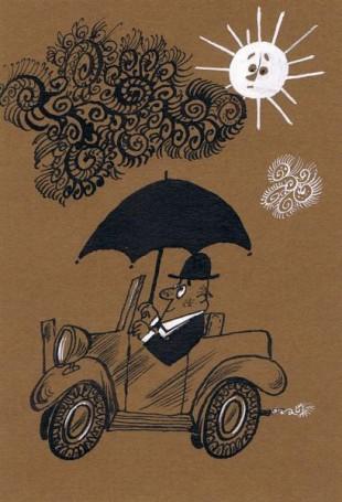 Wyjechawszy na drogę, illustration