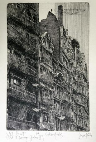 42 Street (List zNowego Jorku II), 2014 r.
