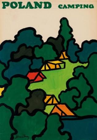 Poland camping, 1969 r.
